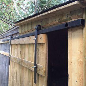 Exterior Sliding Barn Door Track System