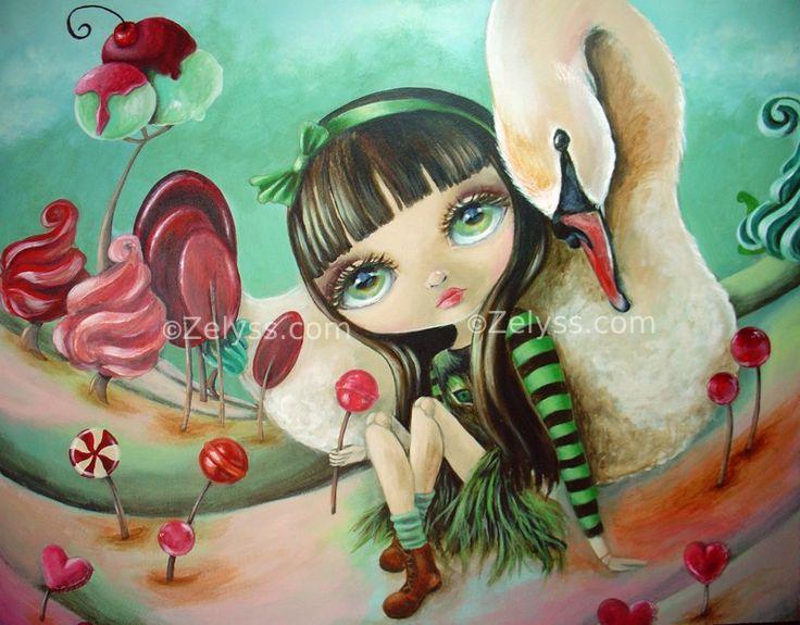 Blythe in Candyland - ZELYSS art- zelyss com by Zelyss on DeviantArt
