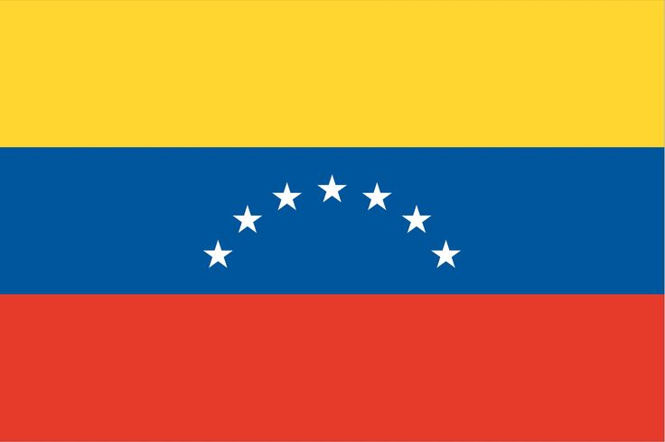The current flag of Venezuela was introduced in 2006. The basic design includes a horizontal tricolor of yellow, blue, and red, dating to the original flag introduced in 1811, in the Venezuelan War of Independence. Further modifications have involved including a set of stars, multiple changes to the placement and number of stars and inclusion of an optional coat of arms at the upper-left corner.