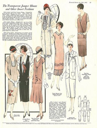 The Pictorial Review, July, 1925, Summer Frocks and Fashion 5 | Flickr - Photo Sharing!