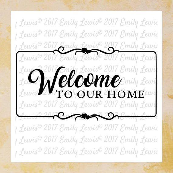 Welcome Sign SVG  Welcome Sign SVGs  welcome svg