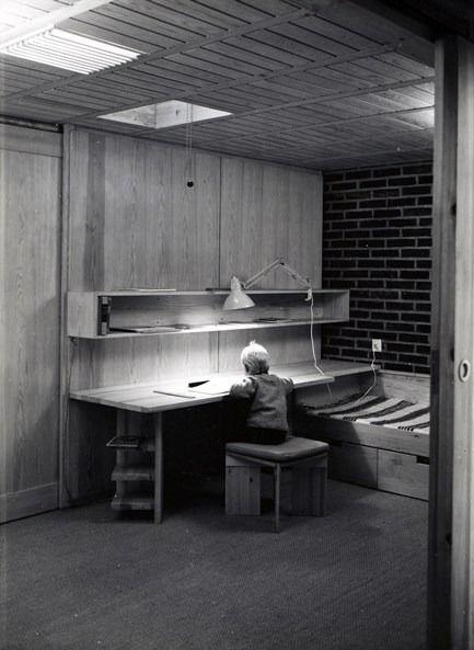 Villa Norrköping. Norrköping, Sweden, 1964. Architect: Sverre Fehn