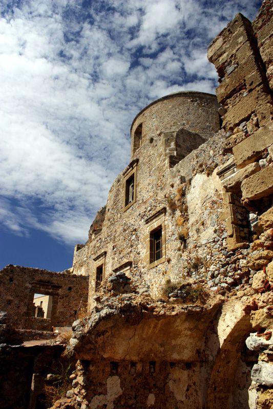 Greece: Monemvasia castle