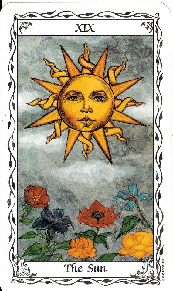 from the Hudes Tarot. Nice and different Rider--Waite style deck for reading.