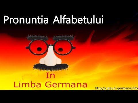 Alfabetul German | pronuntia alfabetului German - YouTube