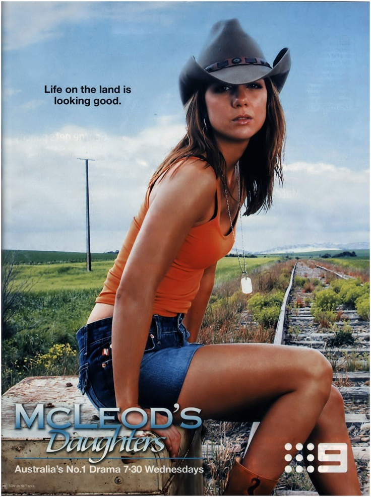 Michala Banas of McLeod's Daughters
