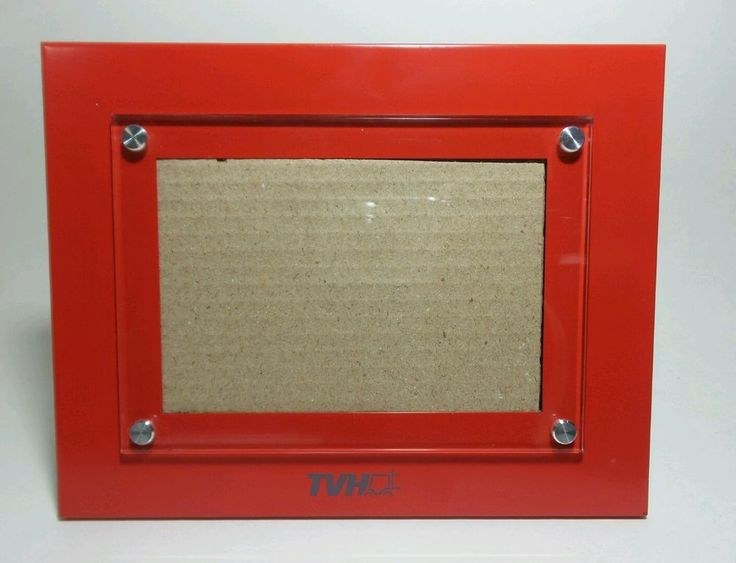 TVH SOLID Red Picture Frame -  size: 9 1/4 X 7 1/4  Fits 6x9 Photo.   Collectibles, Decorative Collectibles, Frames   eBay!