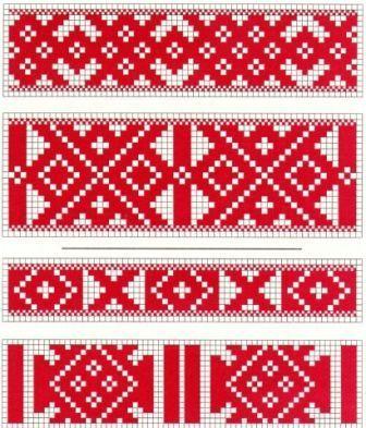 латышские национальные орнаменты - Поиск в Google