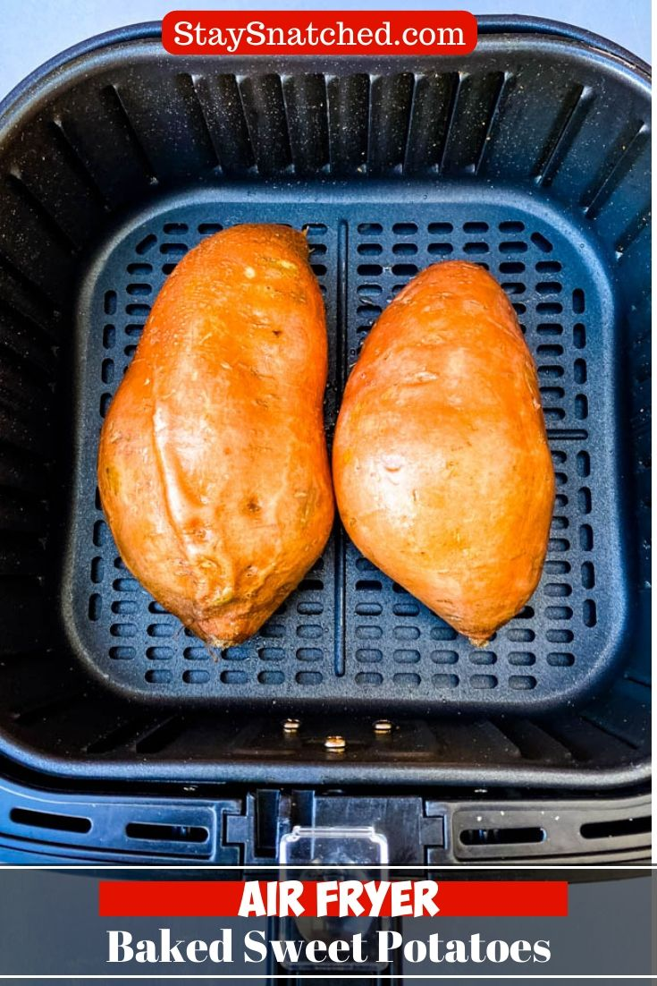Easy Air Fryer Loaded Baked Sweet Potatoes is a quick