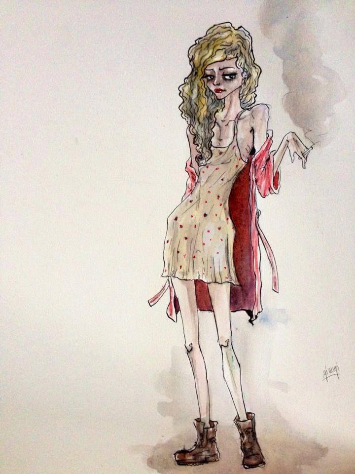 Onda  (illustrazione di Angelica Marilungo)