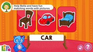 Lipa Bear is another great fun learning game app by Lipa Learning. Your kids will have fun helping Bella Bear find her things by matching wo...