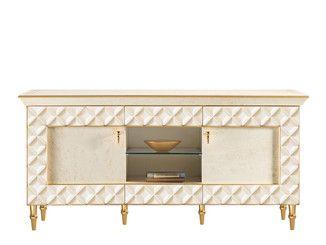 Wooden TV cabinet SIPARIO | TV cabinet