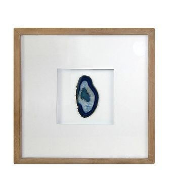 Target Threshold Agate Shadow Box Teal