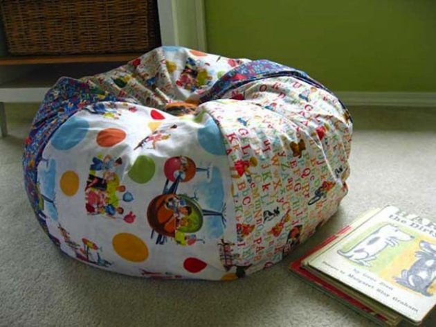 DIY bean bag chairs for the kids. Description from pinterest.com. I searched for this on bing.com/images