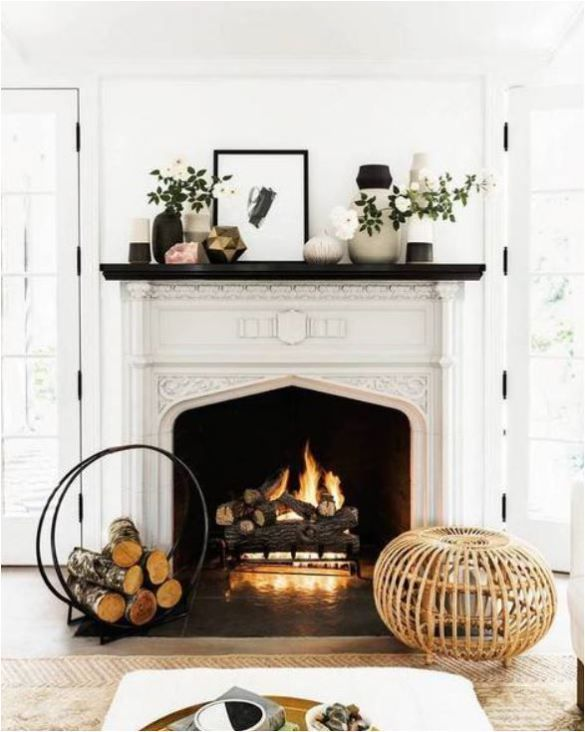 70 best Fireplaces images on Pinterest | Fireplace mantels ...
