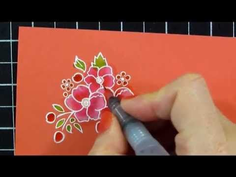 Bleaching & Watercolor