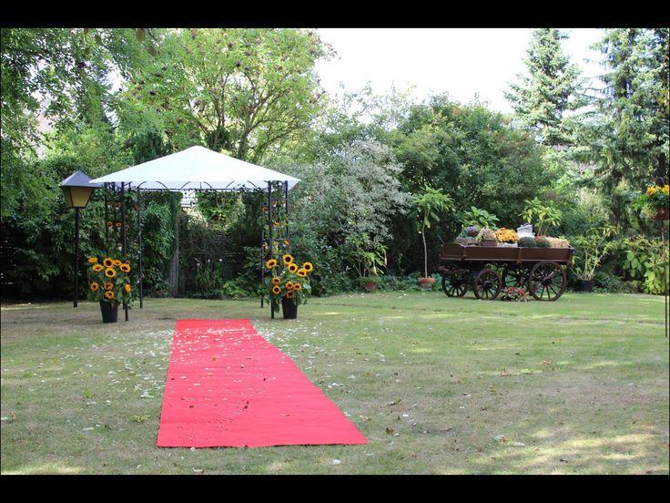 Udsmykning til bryllup på landet