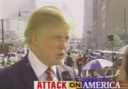 Let's Take a Moment to Remember Trump's Monstrous Response to the 9/11 Attacks  ||  He's never let human decency stop him from promoting his brand. Donald Trump has never been one to let empathy or human decency get in the way of self-aggrandizement and self-interest—even in the face of tragedy. On September 11, 2001, as the world was trying to make sense of the World Trade Center attacks, Trump…