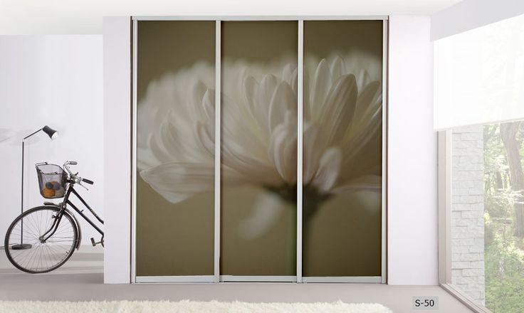 Panele szklane / glass panels interior design szafa / wardrobe