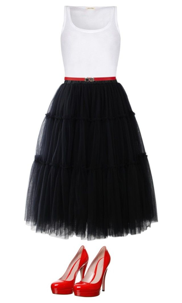 """tulle"" by jazminonly on Polyvore"