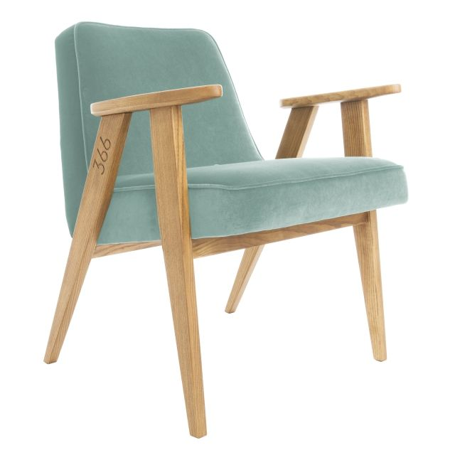 366 Armchair, VELVET Mint 5 days delivery | Free delivery to EU (excl. UK) | 14 days return