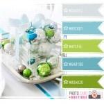 .: Blue Aqua Green Colors Schemes, Colors Combos, Bathroom Colors, Colors Crushes, Colors Palettes, Blue Green Silver Christmas, Blue Green Palettes, Christmas Colors Schemes Blue, Colors Inspiration