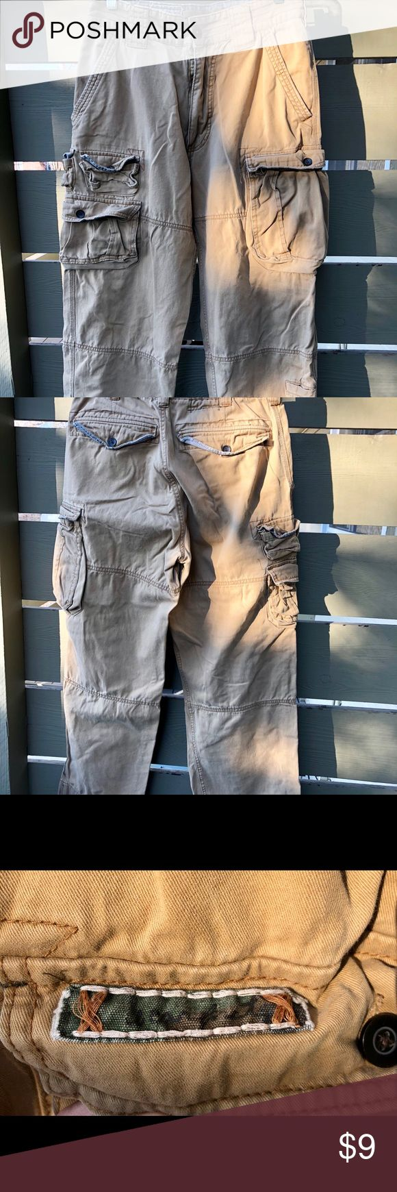 Men's cargo pants Wearfirst Sportswear multipocket utility/cargo pants. Rugged, durable pair for your next adventure. Wearfirst Sportswear Pants Cargo