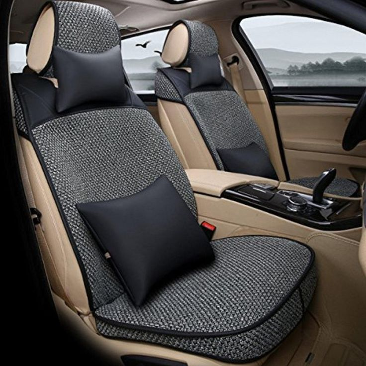 Oroyal Universal Fit Car Seat Cover Set Comfortable Simple Design (Universal Fit For Most Cars, SUV, Trucks or Vans) (Black-12235214) - Brought to you by Avarsha.com