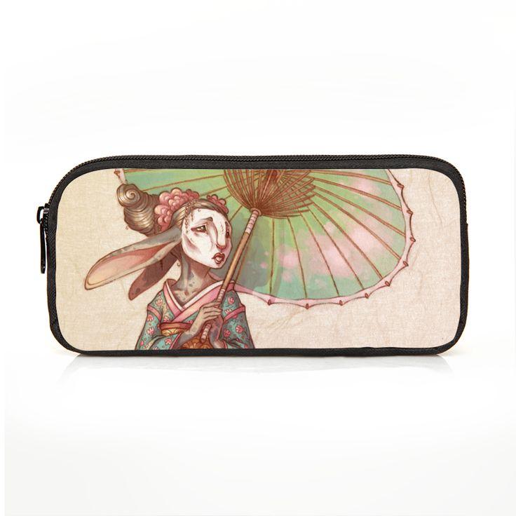 Bunny Geisha Pencil Case