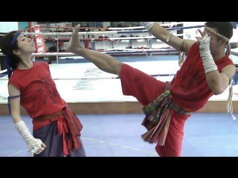 5 Muay Boran Kicks - YouTube