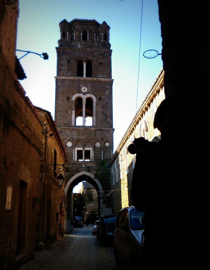 Casertavecchia (Caserta) - Il campanile del duomo.