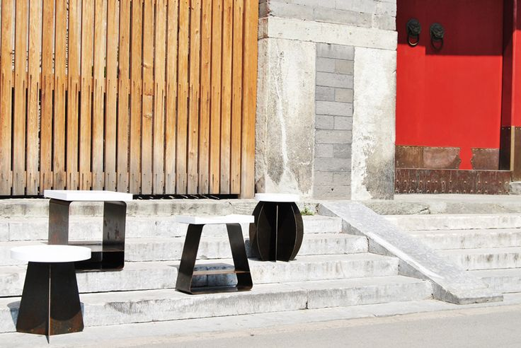 Yi Er San Wu Ling | 1-2-3-5-0 | Stools & Tables Collection | Furniture Design from chinese inspiration | www.micromacrolab.it