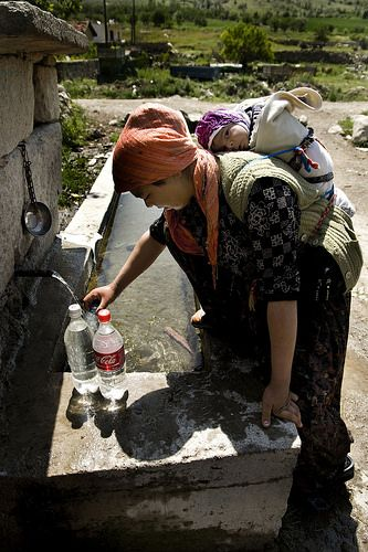 Village life . Turkey