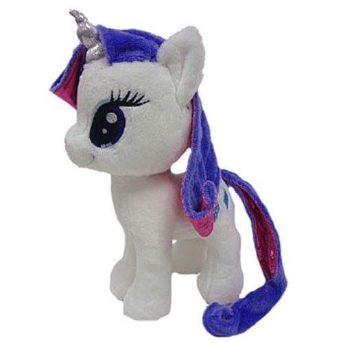 10 Aurora Plush My Little Pony Rarity White Unicorn Horse Stuffed Animal Toy