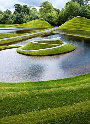 The Fantastic Jupiter Artland - near Edinburgh, Scotland