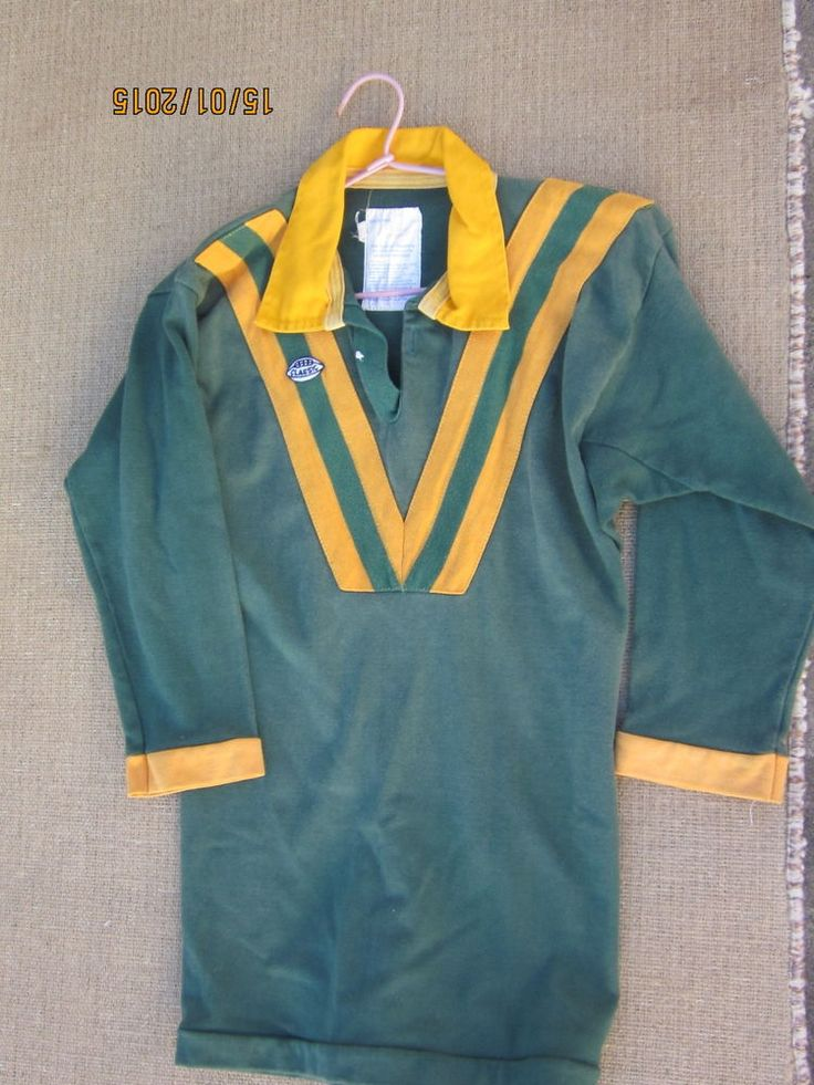 nrl vintage jersey australian team colours rugby league size 14 years child