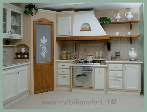 scheda prodotto mobili per cucina linea azzurra base ...