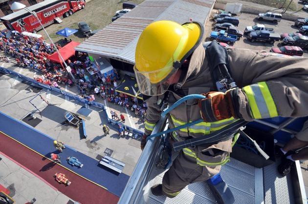 Firefighter Combat Challenge - I love my job