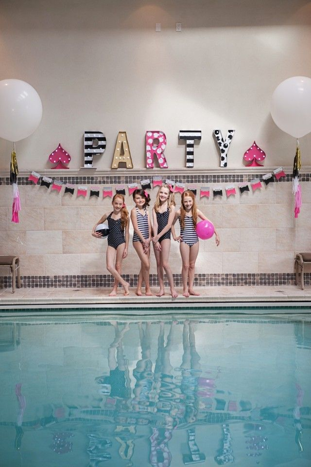 Anders Ruff Custom Designs, LLC: Kate Spade Inspired Pool Party