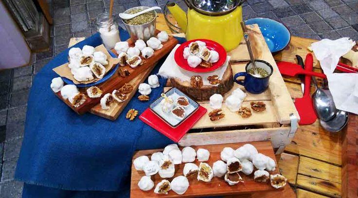 Bocaditos de nuez (nueces confitadas)- Cocineros Argentinos