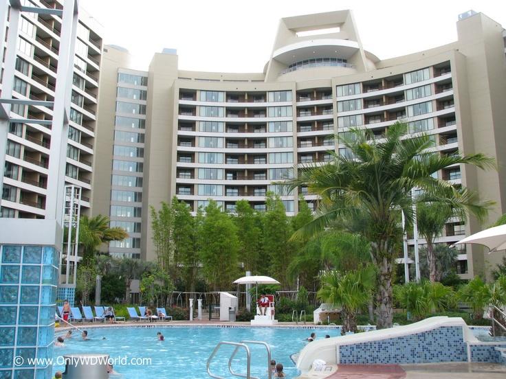 Disney S Bay Lake Towers Resort With A Magic Kingdom View