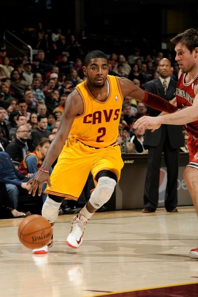 Kyrie Irving dribbling to the lane | Basketball ...