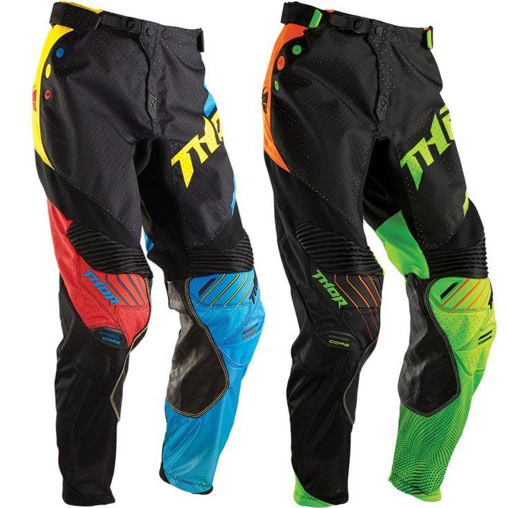 Thor MX Core Air Divide Mens Off Road Dirt Bike Racing Motocross Pants