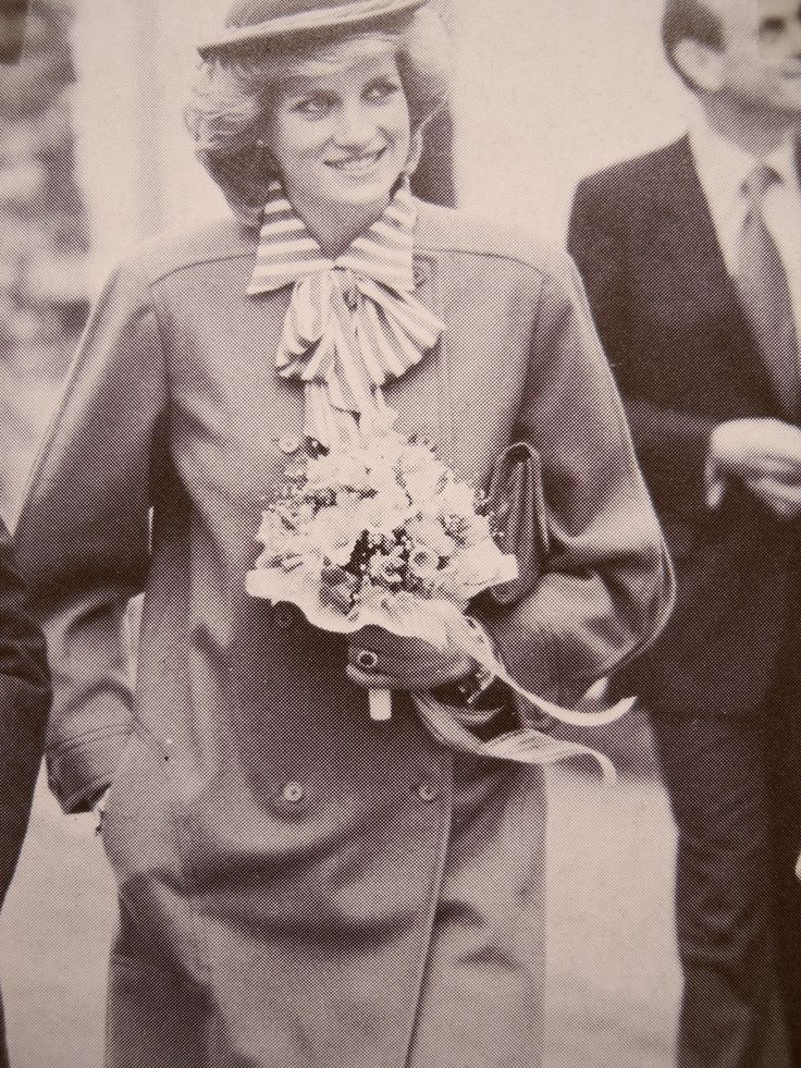 March 27, 1984: Princess Diana opens the new Welsh National Opera Rehearsal Studios in Cardiff, Wales.