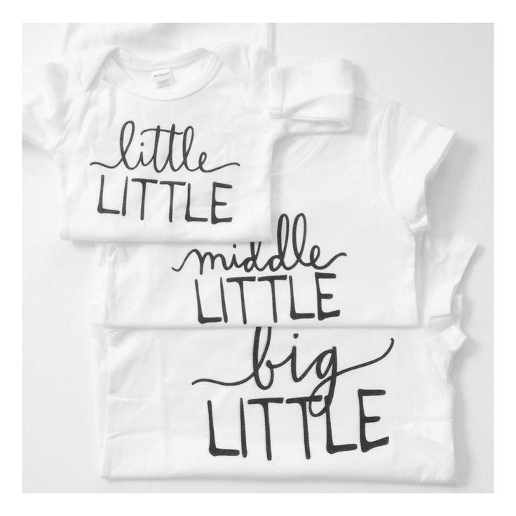 Little, middle, big tees. Kids tees, baby tees, toddler tees, baby shirts, toddler shirts, family pictures