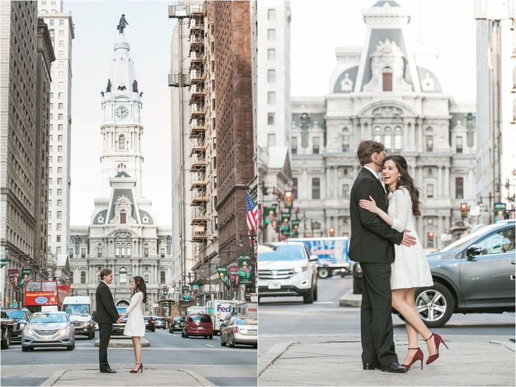 Intimate Philadelphia City Hall Elopement | Philadelphia PA Elopement Photographer | Jacqueline and Alexey | Photo by Samantha Jay Photography