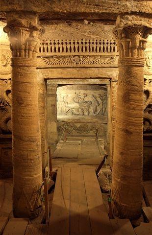 Alexandria, Kom-El Shoqafa Catacombs - Egypt