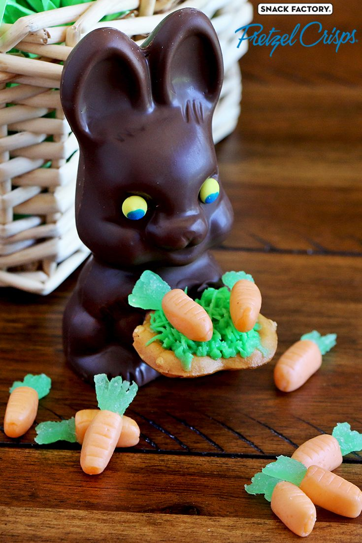 Pretzel Crisps® Easter Bunny Bites