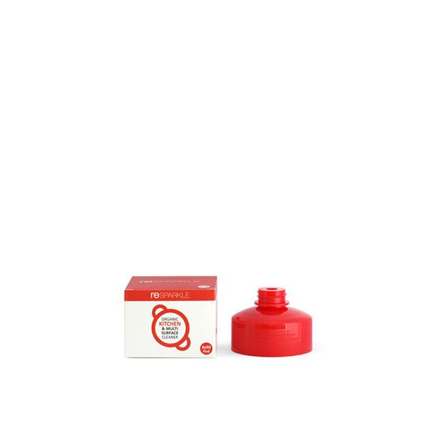 reSPARKLE Organic Kitchen & Multi Surface Cleaner Refill Pod X 1 $5.20 100% Natural concentrate to replenish your 500ml bottle of Organic Kitchen & Multi Surface Cleaner.