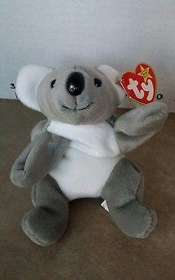 Beanie Baby Original TY Teenie Baby Mel Koala Aussie Australia January 15 1996